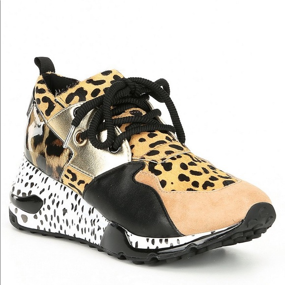 Soldsteve Madden Cliff Animal Sneakers
